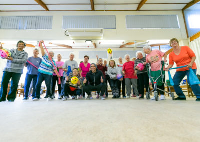 Exercise group photo 2