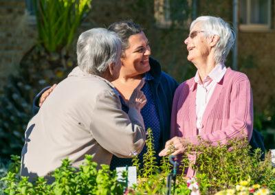 Sharing in the Garden